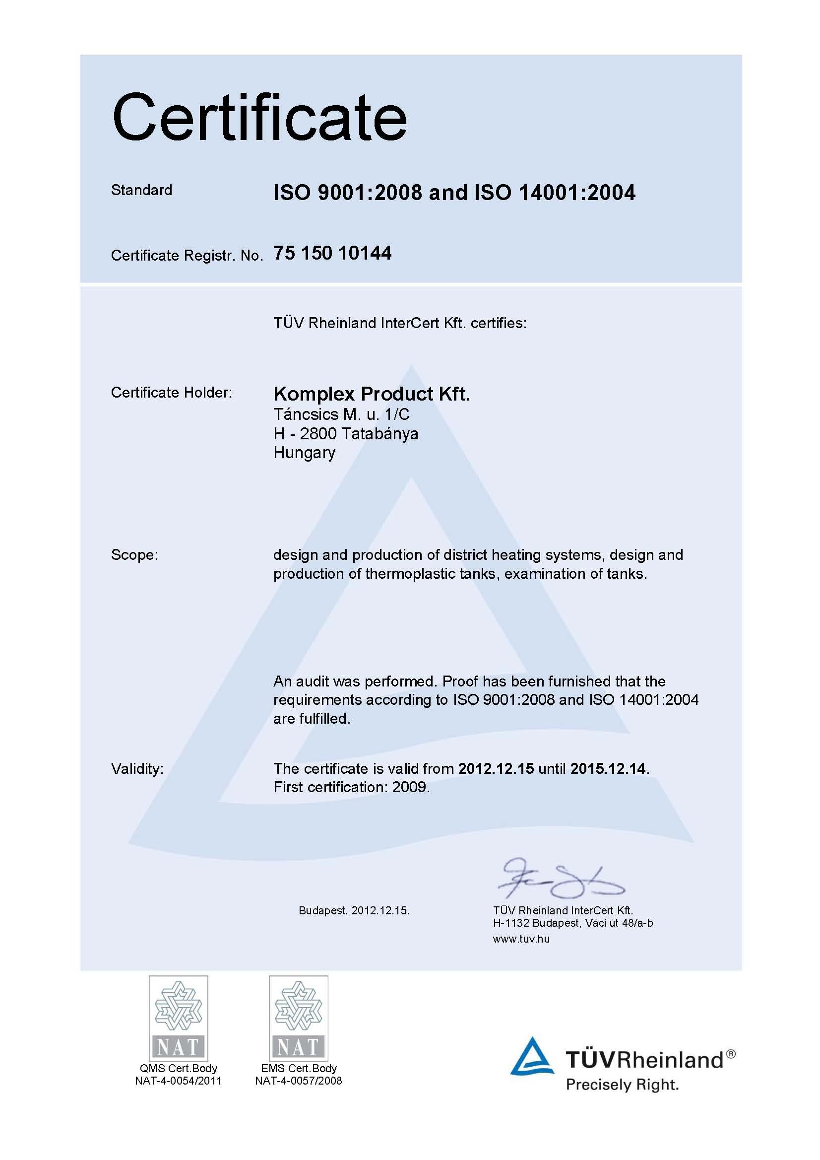Komplex Product Kft. - Elérhetőségek 1078e0f791